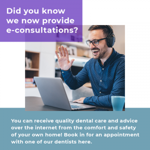 Our dental clinic now provides e-consultations