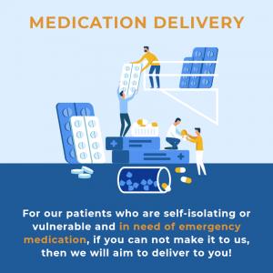 Medication delivery for dental patients